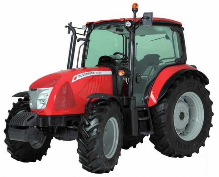 McCormick X4.60 traktor