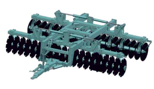 Nardi FCI 230/280/GP vučena teška tanjurača